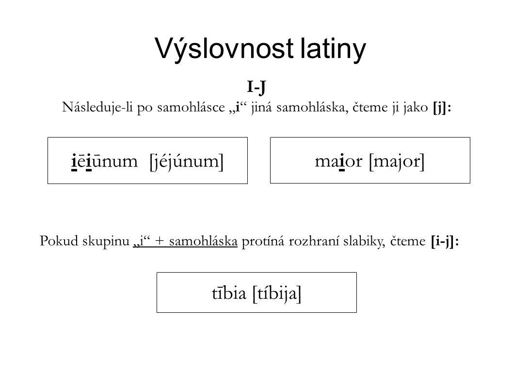 """Následuje-li po samohlásce """"i jiná samohláska, čteme ji jako [j]:"""